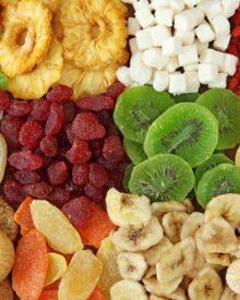 mứt trái cây các loại
