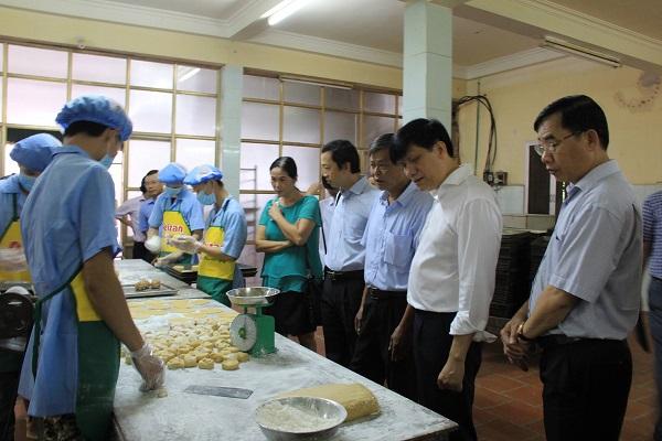 thẩm định cơ sở sản xuất thực phẩm